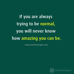 Normal, Acceptance, and Being Exceptional   Kevin Breeding